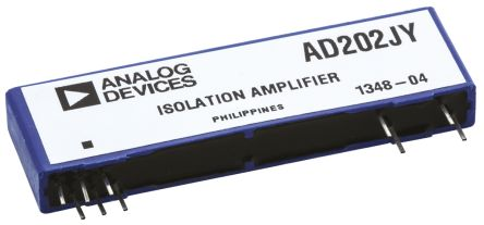 Analog Devices AD202JY, Isolation Amplifier, 15 V, 11-Pin SIP