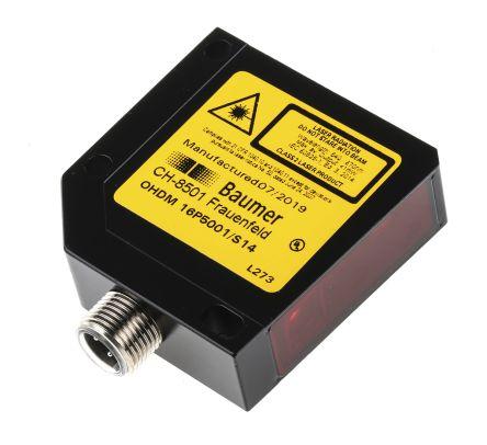 Baumer OHDM Photoelectric Sensor Diffuse 25 → 300 mm Detection Range PNP