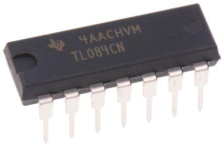 1 pcs New TL084CN DIP-14 ic chip