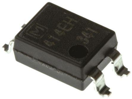 Panasonic, AQY414EHA DC Input MOSFET Output Optocoupler, Surface Mount, 4-Pin PDIP