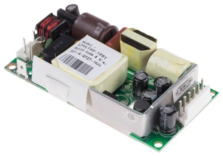 EOS, 40W Embedded Switch Mode Power Supply SMPS, 12V dc, Open Frame