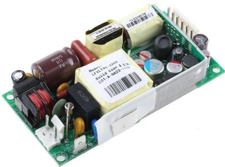 EOS 40W Triple Output Embedded Switch Mode Power Supply SMPS, 1 5 A, 6 A,  500 mA, 5 2/14 6/14 8V dc