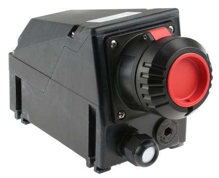 3P+E IP66 ATEX Approved Power Connector, Socket, 16A 415 V