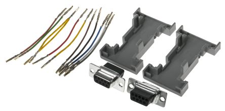"""D-sub Adapter MHGA"""" Series Modular Gender Changer"""" , For use with 9 Way D-Sub Connector product photo"""