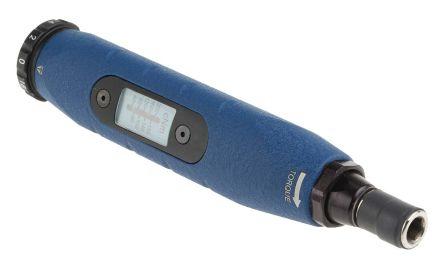 Lindstrom 1/4 in Hex Adjustable Torque Screwdriver, 40 → 200Ncm