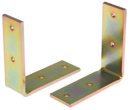 80 x 30mm 4 Hole Steel Angle Bracket product photo