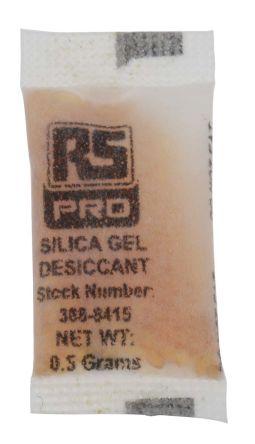 Indicating silica gel,0.5g 35x20mm