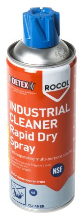 Rocol 300 ml Aerosol Multi Purpose Cleaning Spray,Food Safe for Metal,  Paint, Plastic