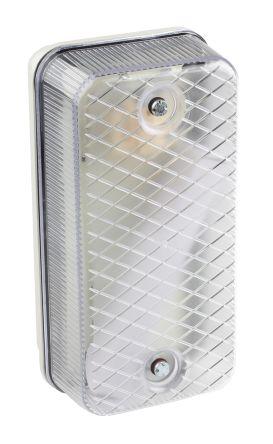 Plafoniera Da Esterno Rettangolare : Plafoniera da esterno rs pro fluorescente 9 w 230 v ca ip64