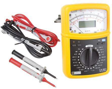 C.A 5011 Analogue Multimeter 10A ac/dc 1000V ac/dc product photo