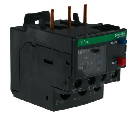 Schneider Electric Thermal Overload Relay - NO/NC, 9 → 13 A, 13 A, 6 kV, 3P
