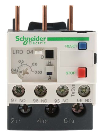 Schneider Electric Overload Relay NONC 04 063 A 630 mA