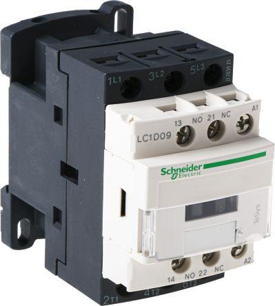 Terrific Lc1D09B7 Schneider Electric 3 Pole Contactor 9 A 24 V Ac Coil Wiring Database Gramgelartorg