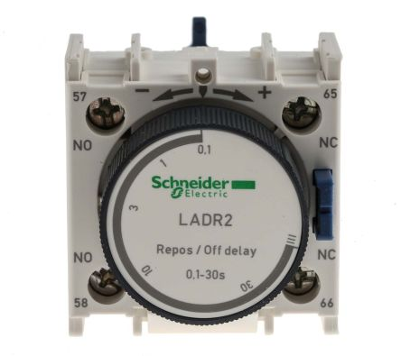 ladr2 tesys d series analogue off delay pneumatic timer range schneider electric main product