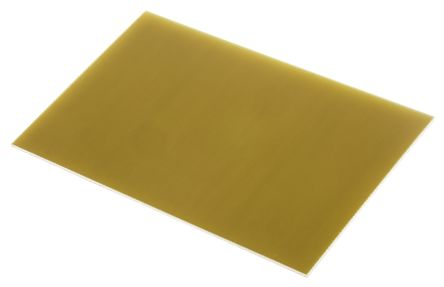 FB2-100X160S, Single Sided Photoresist Board FR4 35μm Copper Thick, 160 x  100 x 1 6mm