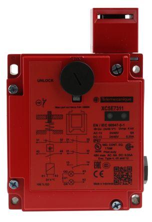 XCS-E Solenoid Interlock Switch Power to Unlock 24 V ac/dc