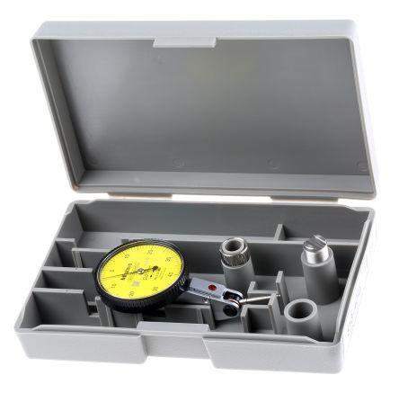 Mitutoyo 513-404-10E Plunger Dial Indicator, Range ±0.8 mm