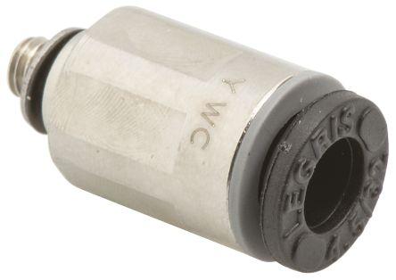 Legris 3101 04 09 Пневматический прямой переходник с резьбы на трубу