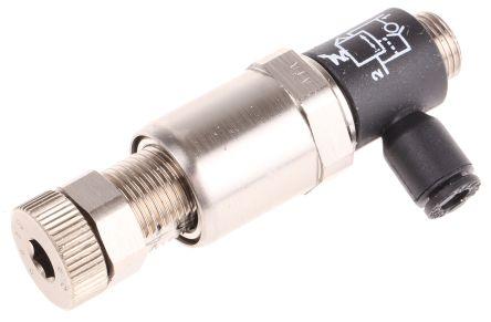 Legris 7300 Threaded Tube Miniature Regulator, G 1/8 Male x 4mm, 1/8 in