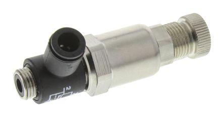 Legris 7300 Threaded Tube Miniature Regulator, G 1/8 Male x 6mm, 1/8 in
