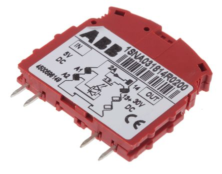 Optocoupler, R500, 5V dc, 2 A