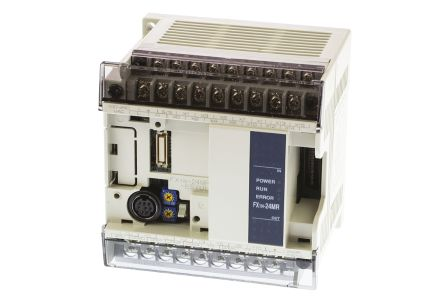 Mitsubishi FX1N PLC CPU Computer Interface, 8000 Steps Program Capacity, 14  (Digital) Inputs, 10 (Relay) Outputs