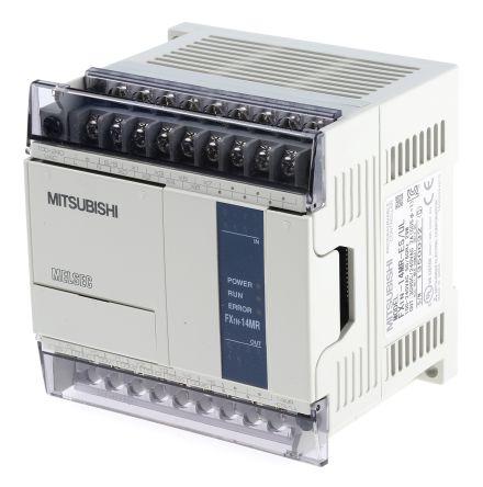 Mitsubishi FX1N PLC CPU Computer Interface, 8000 Steps Program Capacity, 8  (Digital) Inputs, 6 (Relay) Outputs