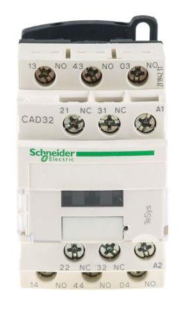 Schneider Electric Control Relay 3NO2NC 10 A CAD32F7 RS Components