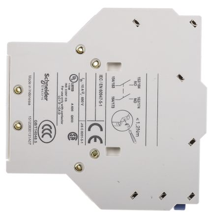SCHNEIDER ELECTRIC LAD8N20 IEC Auxiliary Contact