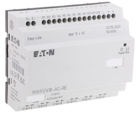 EASY Expansion Module, 100 -> 240 V ac, 12 x Input, 6 x Output Without Display product photo