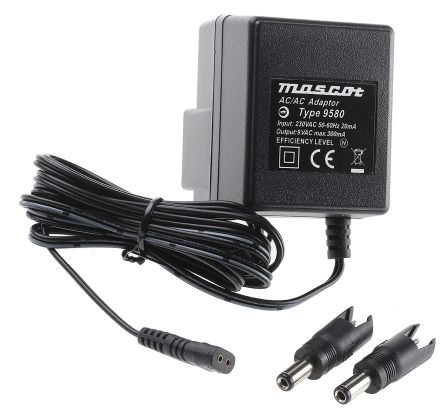9V AC ADAPTOR Charger Power Supply