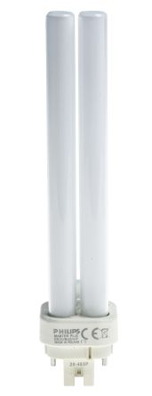 Philips Lighting, 4 Pin, Non Integrated Compact Fluorescent Bulbs, 26 W,  4000K, Cool White