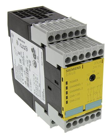 F4112157 01 3tk28271bb40 sirius 3tk28 safety relay, single channel, 24 v dc siemens safety relay wiring diagram at gsmx.co