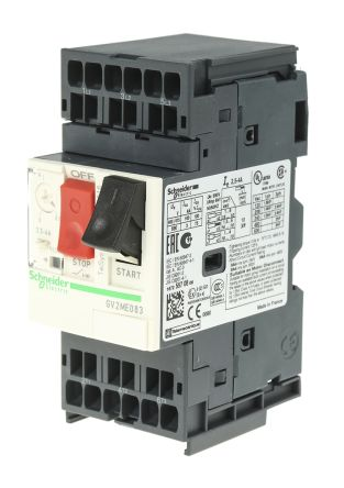 Electric TeSys 2.5, 4 A 3P Motor Protection Circuit Breaker, 500 V