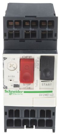 Electric TeSys 6, 10 A 3P Motor Protection Circuit Breaker, 10 kA, 500 V