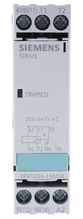 Siemens Thermistor motor protection relay Monitoring Relay With SPDT  Contacts, 230 V ac