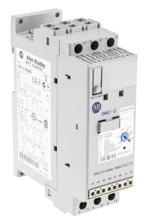 Allen Bradley Sanftstarter SMC-3, 3-phasig, 7,5 kW, 16 A, 200 → 460 ...