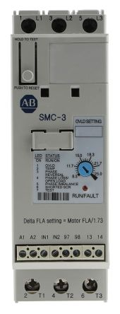 Allen Bradley Sanftstarter SMC-3, 3-phasig, 11 kW, 25 A, 200 → 460 ...