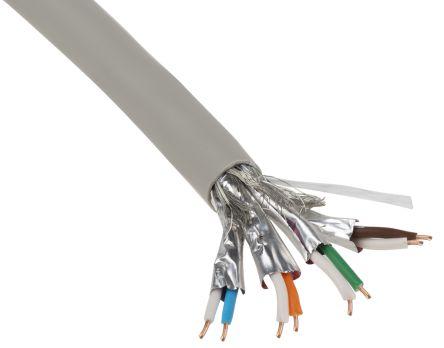 Belden Grey LSZH Cat7 Cable S/FTP, 500m Unterminated