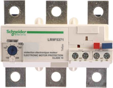 Schneider Electric Overload Relay, 132 → 220 A, 630 A, 100 W