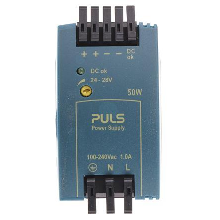 PULS ML50.100 Источник питания для монтажа на панель и DIN-рейку