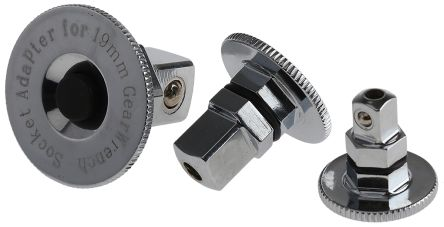 Gear Wrench Adapter Set Adapter Set, size 1/4 x 10; 3/8 x 13; 1/2 x 19 mm product photo