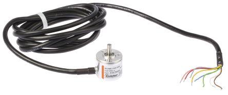 Kubler Incremental Encoder 1024 ppr 12000rpm 5 → 24 V dc   05.2400 on linear encoder wiring diagram, incremental encoder block diagram, rotary encoder wiring diagram,