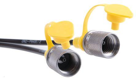 Hydraulic hose hook up