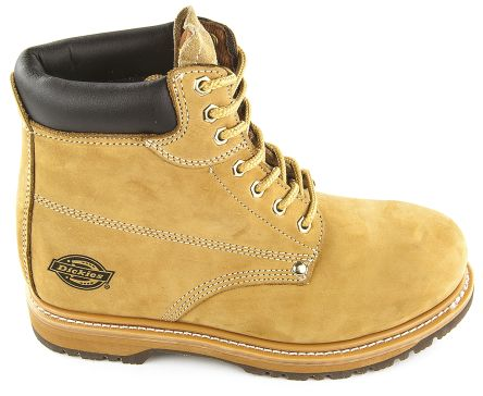 c37b3daae1b Dickies Cleveland Steel Toe Safety Boots, UK 8, EUR 42, Resistant To Heat,  Oil Anti-Slip No
