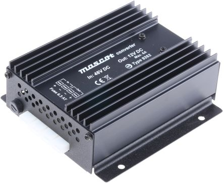 81W Fixed Installation Car Power Adapter, 40 → 64V dc / 13.2V dc
