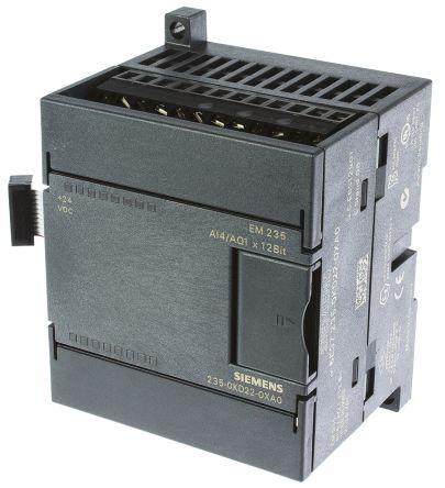 6es72350kd220xa0 siemens s7 200 series plc i o module 4 inputs 1 rh uk rs online com