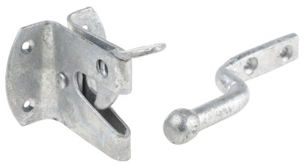 Steel Gate Latch with Galvanised Finish product photo