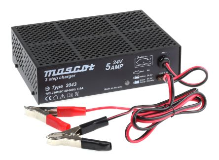 Mascot 24V, 5A Switch Mode Battery Charger
