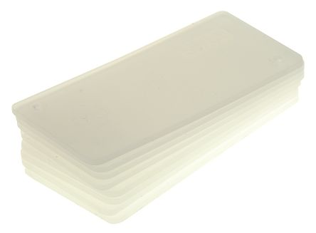 Raaco Clear Drawer Dividers, 31mm x 64mm x 2mm